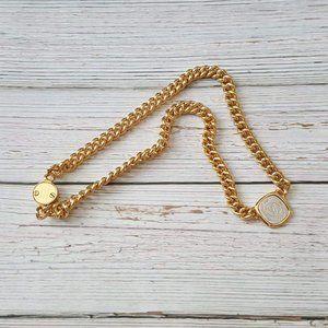 New! Fabulous Louis Vuitton Necklace ID Chain